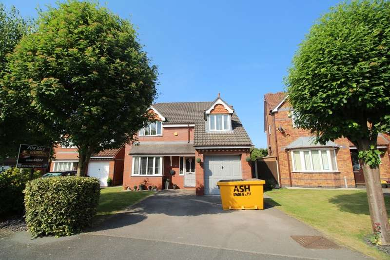 4 Bedrooms Detached House for sale in Wyche Close, Rudheath, Northwich, CW9