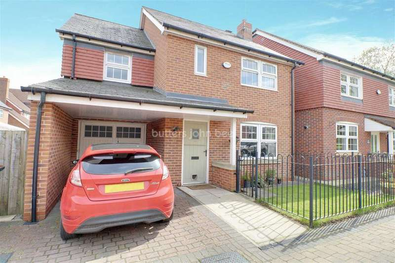 3 Bedrooms Detached House for sale in Galloway Green