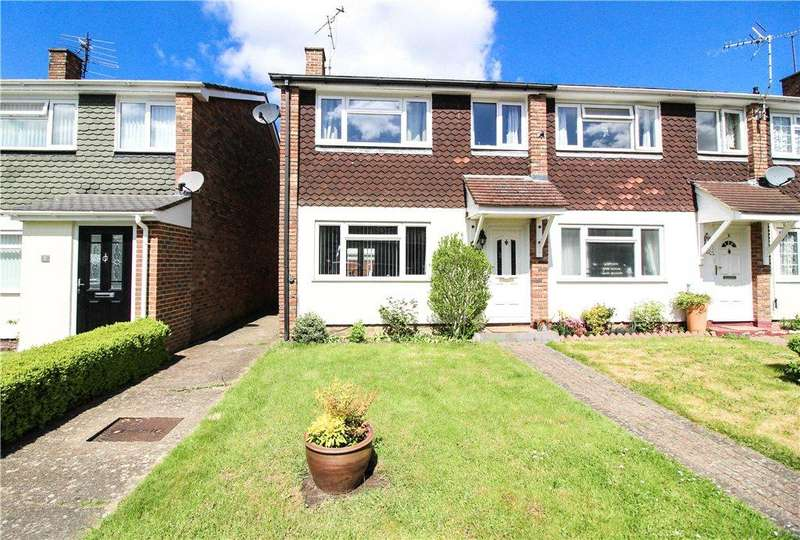 3 Bedrooms End Of Terrace House for sale in Berrybank, College Town, Sandhurst, Berkshire, GU47