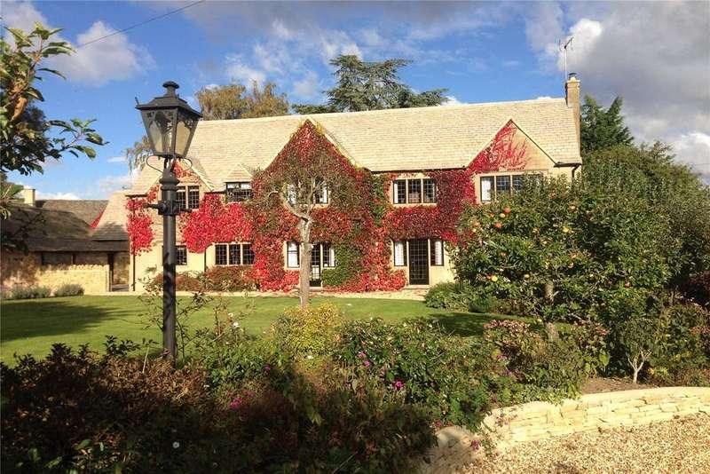 5 Bedrooms Detached House for sale in Arlington, Bibury, Gloucestershire, GL7