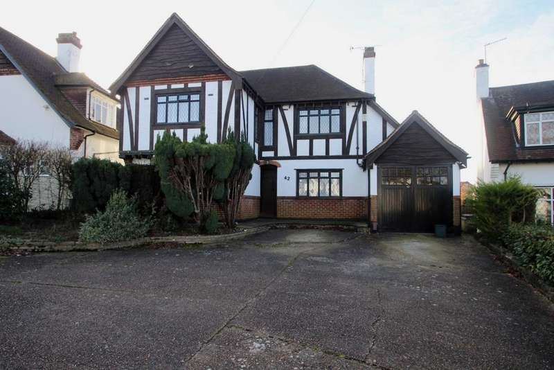 4 Bedrooms Detached House for sale in Park Avenue, Orpington, BR6