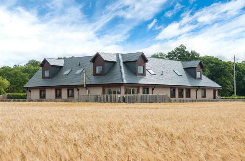 5 Bedrooms Detached House for sale in Cauldcotts House, Leetown, Glencarse, Perth, PH2