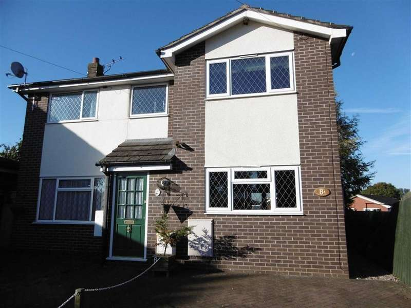 2 Bedrooms Semi Detached House for sale in Grenville Close, Haslington, Crewe