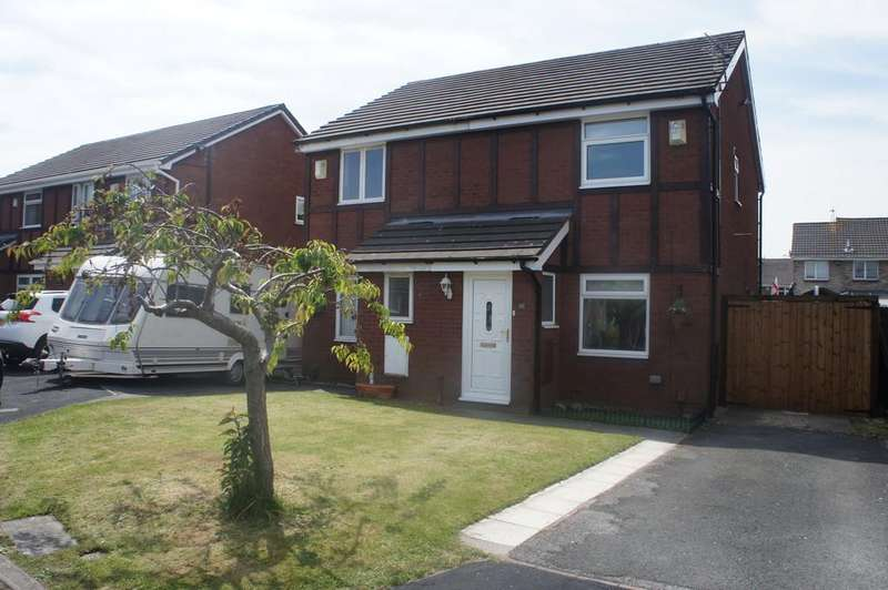 2 Bedrooms Semi Detached House for sale in Moorfoot Way, Melling Mount