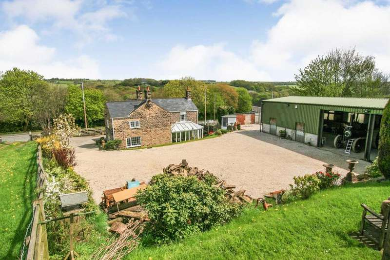 3 Bedrooms Detached House for sale in Unstone Farm, Chesterfield Road, Derbyshire, S18 4AF