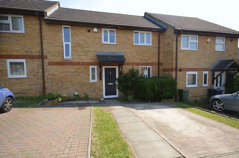 2 Bedrooms Terraced House for sale in Underwood Close, Luton