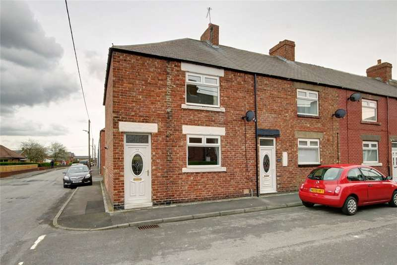 3 Bedrooms End Of Terrace House for sale in Church Street, Leadgate, Consett, DH8
