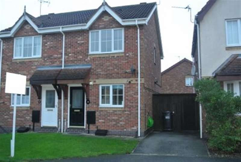 2 Bedrooms Semi Detached House for rent in Sawmand Close, Long Eaton NG10 3PX