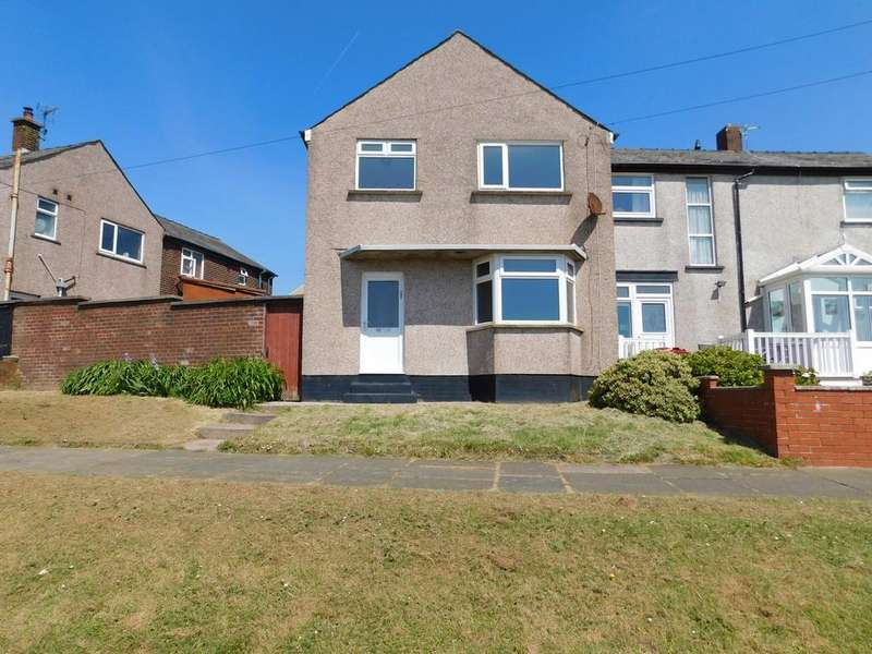 3 Bedrooms End Of Terrace House for sale in Westminster Avenue, Walney, Barrow-in-Furness. LA14 3HG