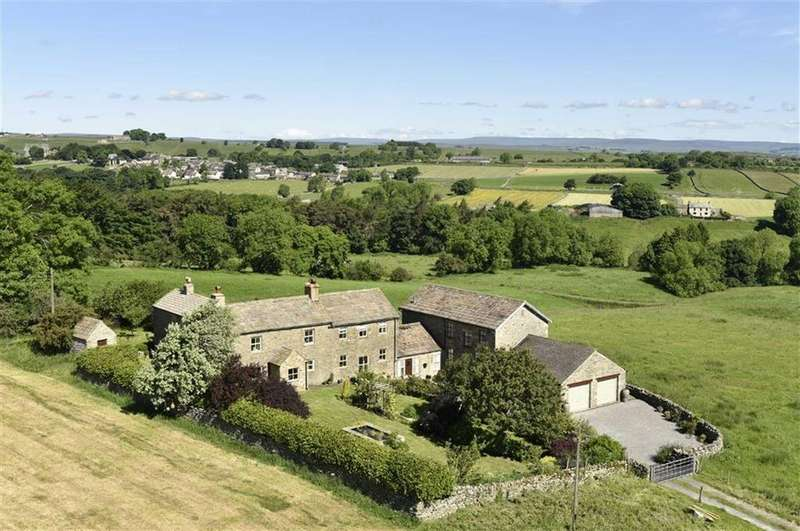 5 Bedrooms Country House Character Property for sale in Gilmonby, Bowes, County Durham
