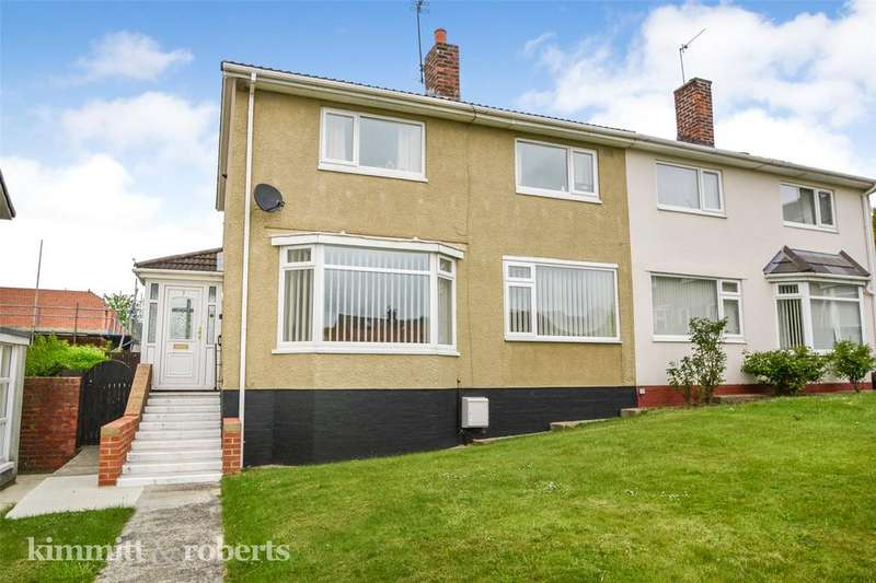 3 Bedrooms Semi Detached House for sale in Wilson Place, Peterlee, Co. Durham, SR8