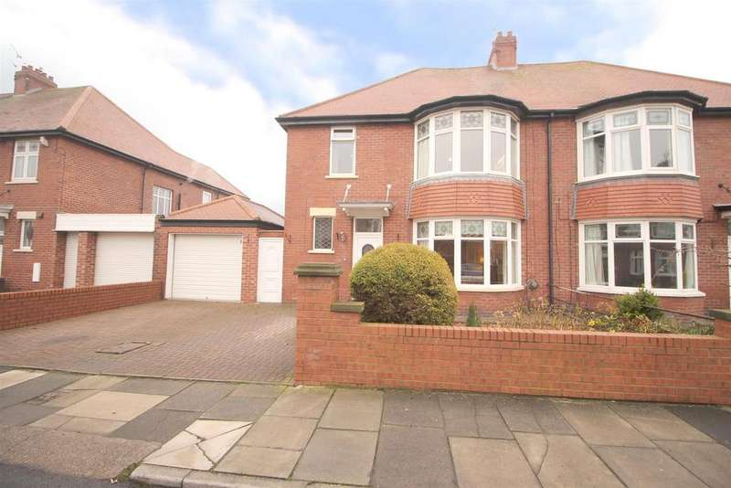 4 Bedrooms Semi Detached House for sale in Kennersdene, Tynemouth