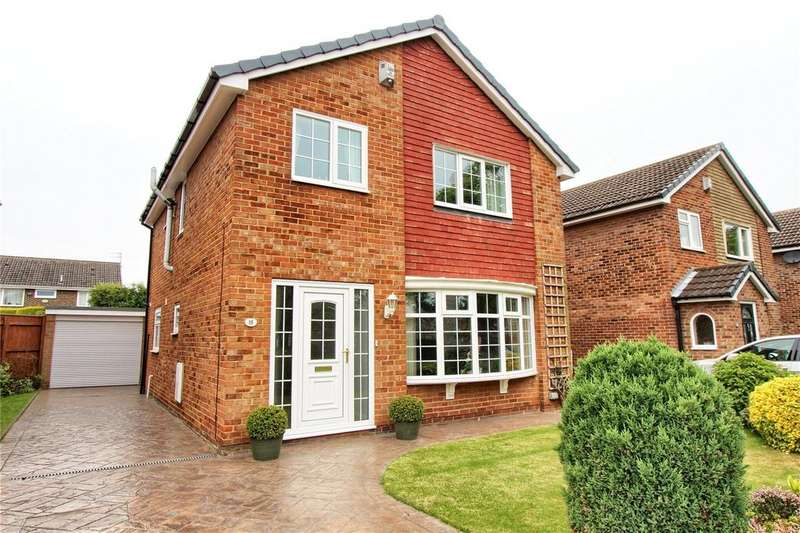 4 Bedrooms Detached House for sale in Shearwater Lane, Crooksbarn
