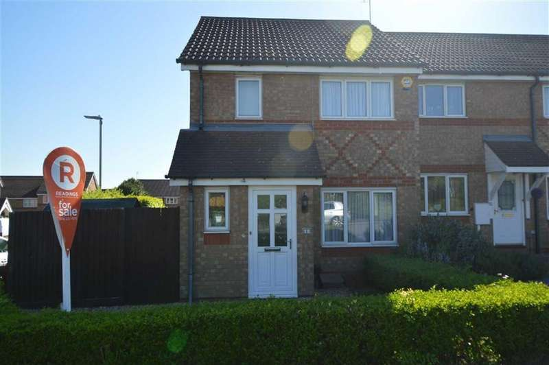 3 Bedrooms Town House for sale in Seacole Close, Thorpe Astley
