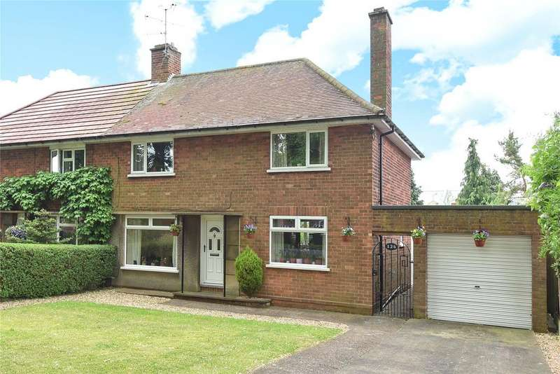 3 Bedrooms Semi Detached House for sale in Yarborough Crescent, Lincoln, LN1