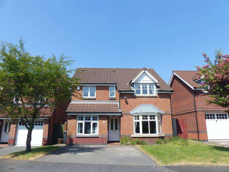 4 Bedrooms Detached House for sale in Hobhouse Close, Birmingham