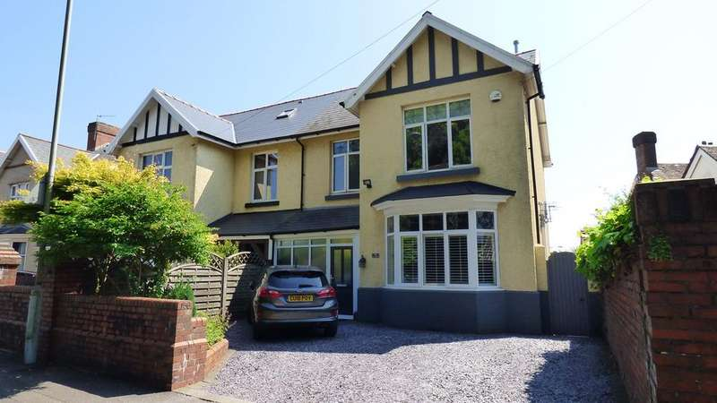 3 Bedrooms House for sale in Vicarage Road, Morriston, Swansea, SA6