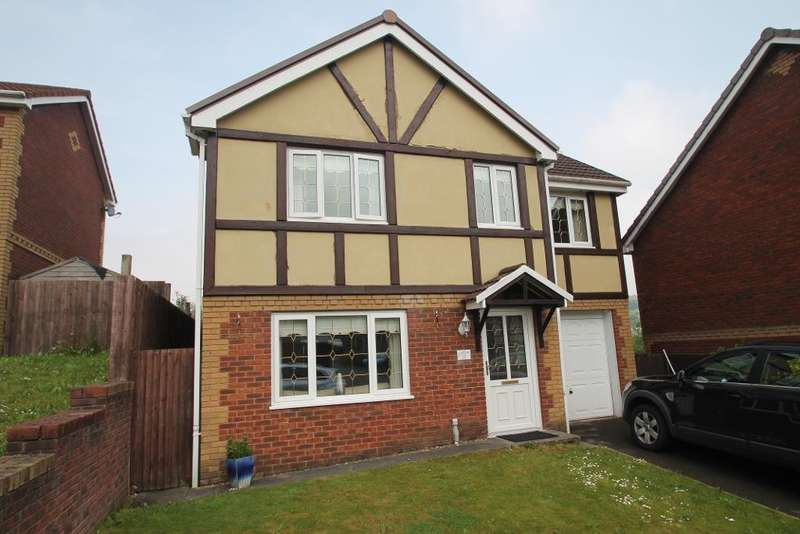 4 Bedrooms Detached House for sale in North Rising, Pontlottyn, Bargoed, CF81 9PA