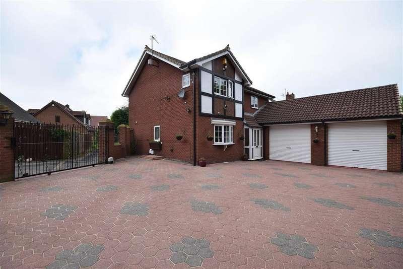 4 Bedrooms Detached House for sale in Cranborne, East Herrington, Sunderland