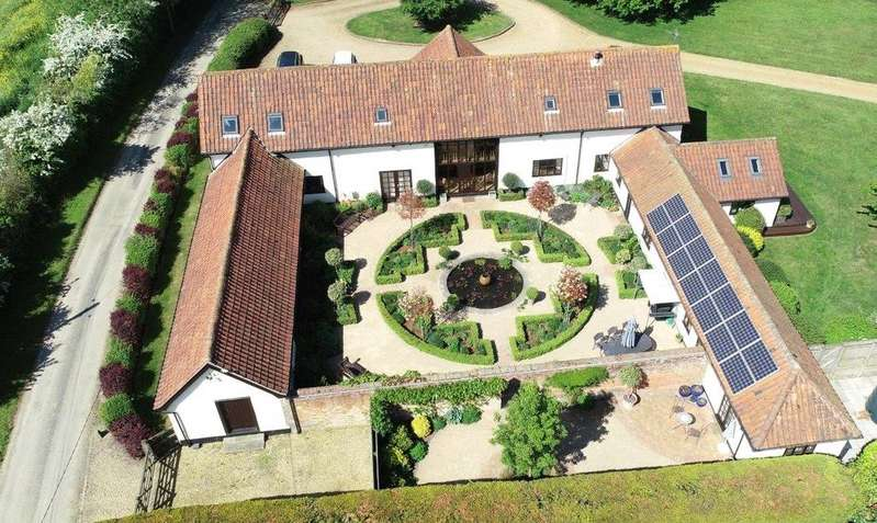 5 Bedrooms Detached House for sale in The Stone, Baylham, Ipswich, IP6