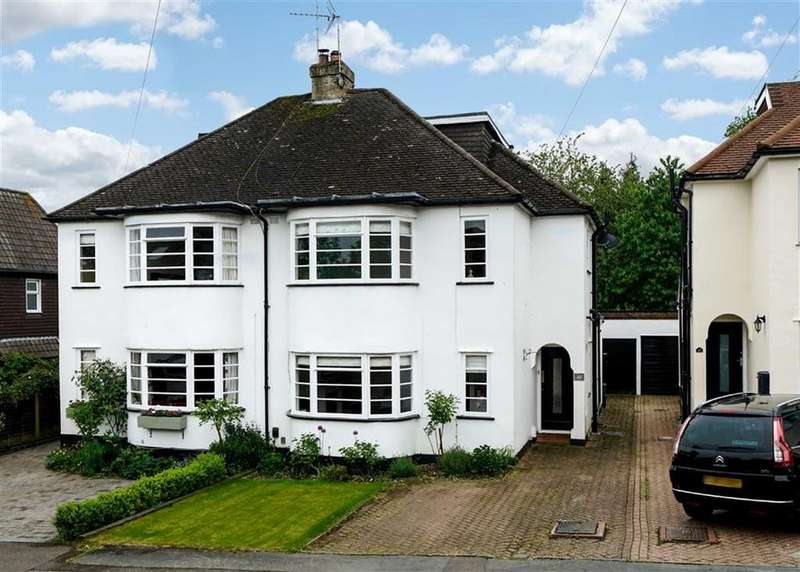 4 Bedrooms Semi Detached House for sale in West Way, Harpenden, Hertfordshire
