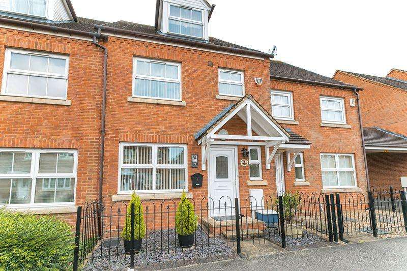 4 Bedrooms Terraced House for sale in Colossus Way, Bletchley