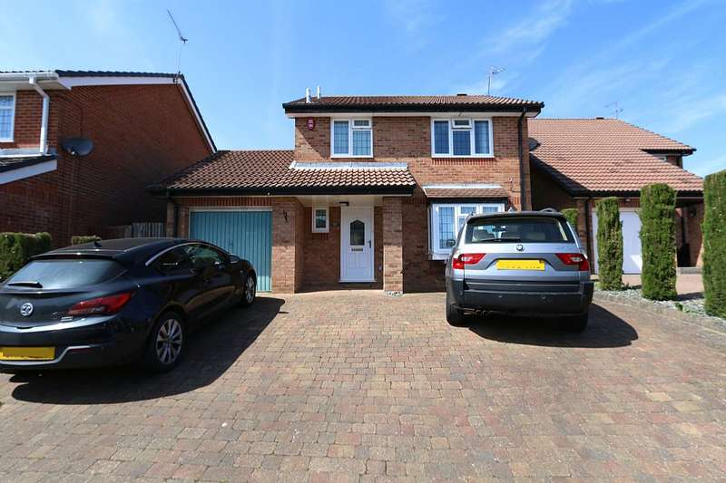 3 Bedrooms Detached House for sale in Catesby Green, Luton, Bedfordshire, LU3 4DP