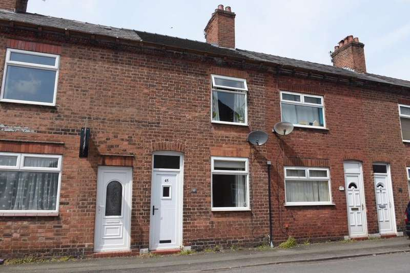 2 Bedrooms Terraced House for sale in James Street, Northwich