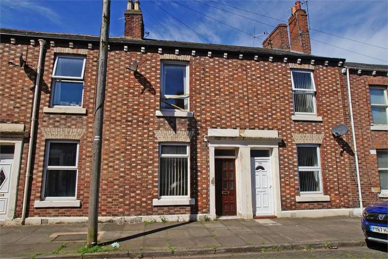 2 Bedrooms Terraced House for sale in Cumberland Street, Denton Holme, Carlisle, Cumbria
