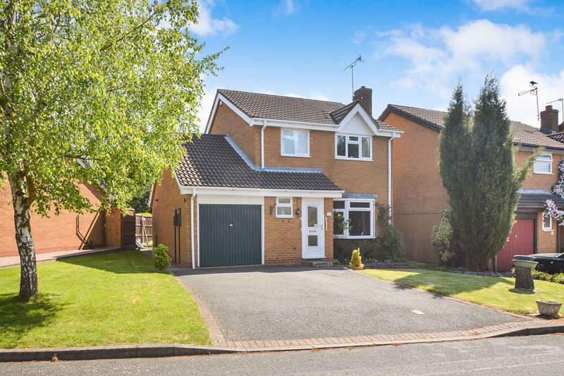 3 Bedrooms Detached House for sale in Queensmead Close, Groby, Leicester, LE6