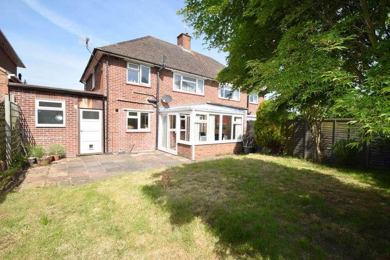3 Bedrooms Semi Detached House for sale in Bulkeley Avenue, Windsor, SL4