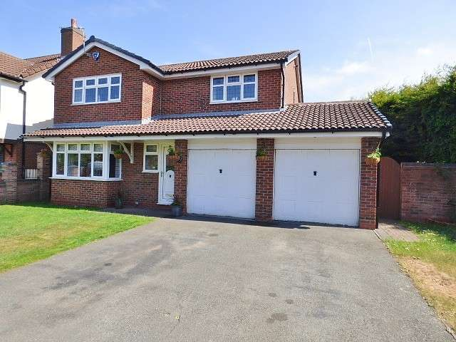 4 Bedrooms Detached House for sale in Castle Green, Kingswood, Warrington