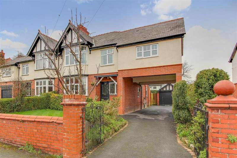 5 Bedrooms Semi Detached House for sale in Acton Road, Wrexham