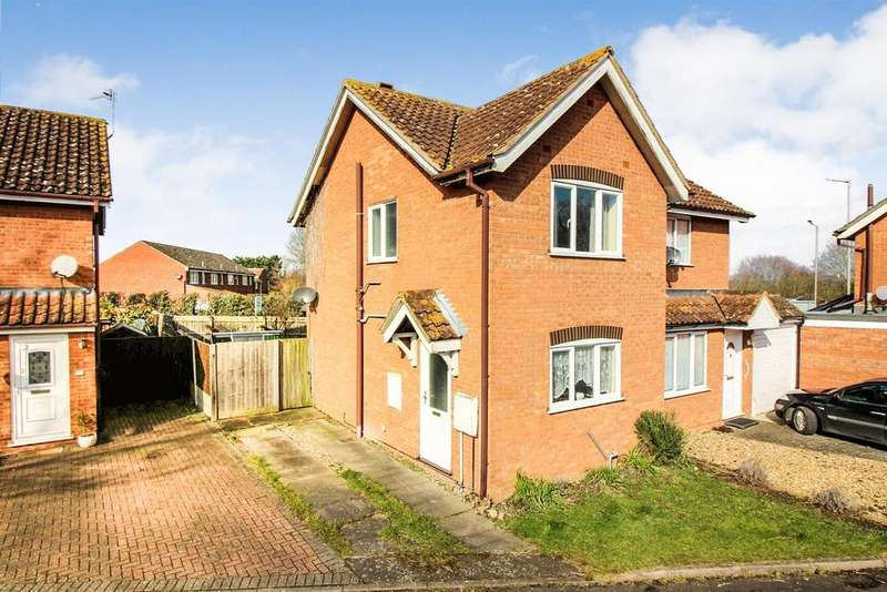 2 Bedrooms Semi Detached House for sale in Alderson Close, Aylesbury