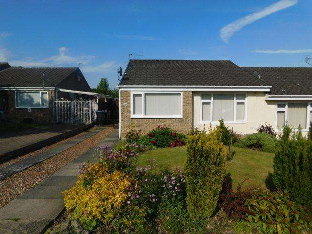 2 Bedrooms Semi Detached Bungalow for sale in WINCHESTER DRIVE, BRANDON, DURHAM CITY : VILLAGES WEST OF