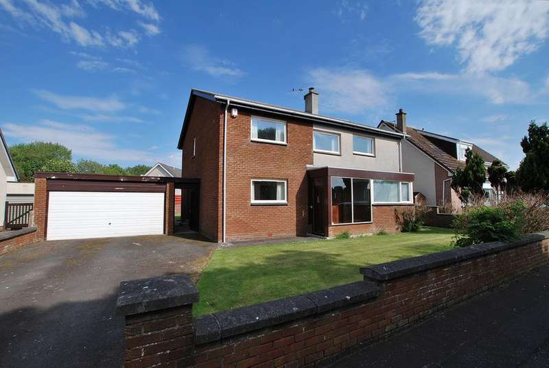 5 Bedrooms Detached House for sale in Abercromby Drive, Doonfoot, AYR, KA7 4DQ