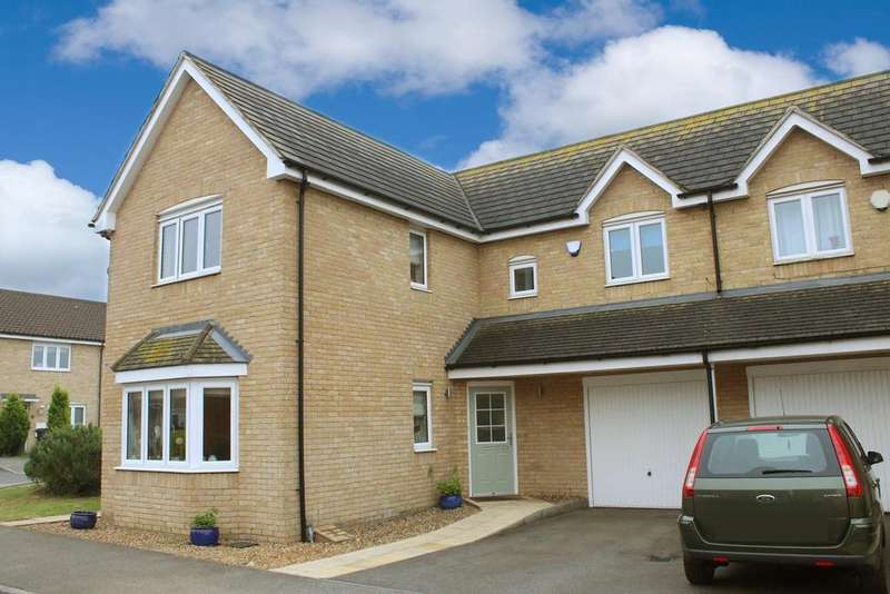 4 Bedrooms Semi Detached House for sale in Strawberry Fields, Great Barford, MK44