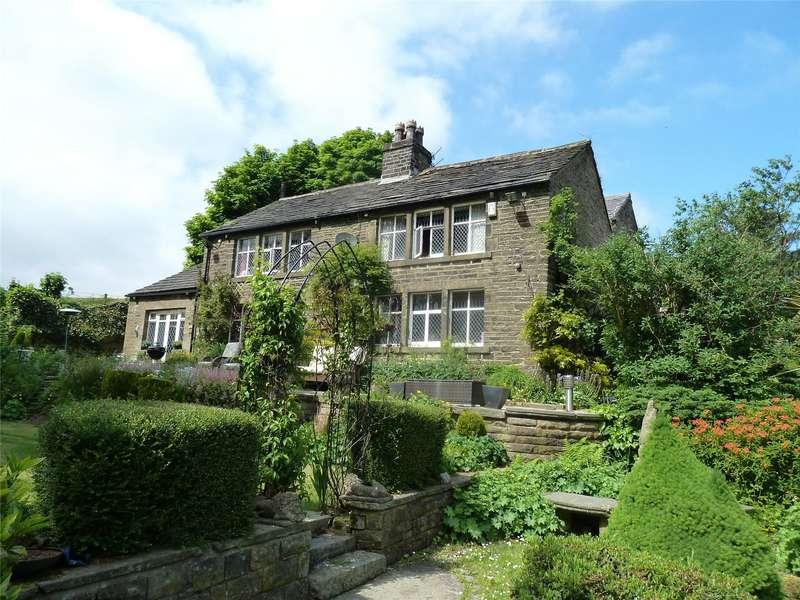 4 Bedrooms Detached House for sale in Knarr Barn Lane, Dobcross, Saddleworth, OL3