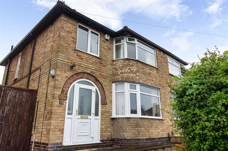 3 Bedrooms Semi Detached House for sale in Queensgate Drive, Leicester