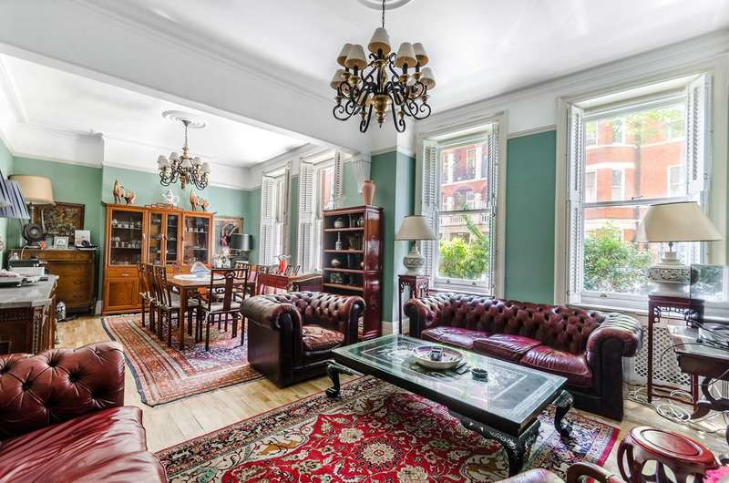 5 Bedrooms Flat for sale in Fitzgeorge Avenue, Brook Green, W14
