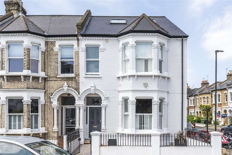 5 Bedrooms Semi Detached House for sale in Elms Crescent, London, SW4