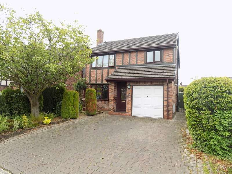 4 Bedrooms Detached House for sale in Ribchester Gardens, Culcheth, Warrington, WA3