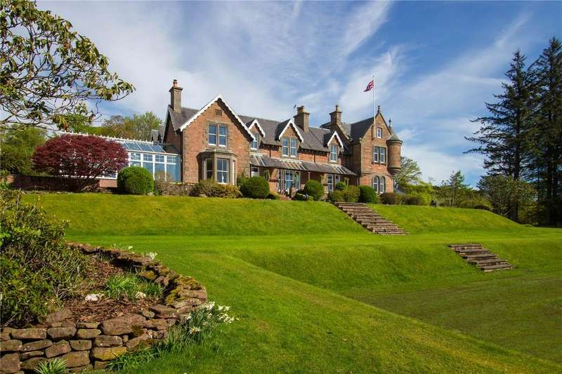 6 Bedrooms Detached House for sale in Balhall Lodge, Menmuir, By Brechin, Angus, DD9