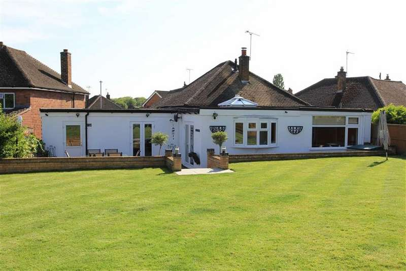 3 Bedrooms Bungalow for sale in Leybury Way, Scraptoft, Leicestershire