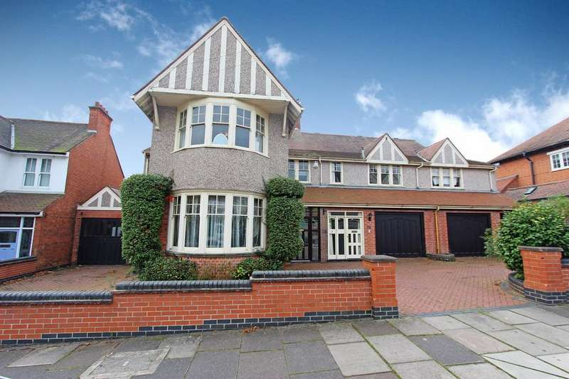 5 Bedrooms Detached House for sale in Letchworth Road, Leicester, LE3