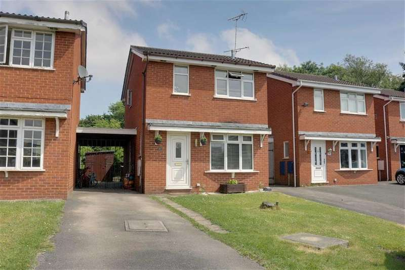 3 Bedrooms Detached House for sale in Padstow Close, Coppenhall, Crewe