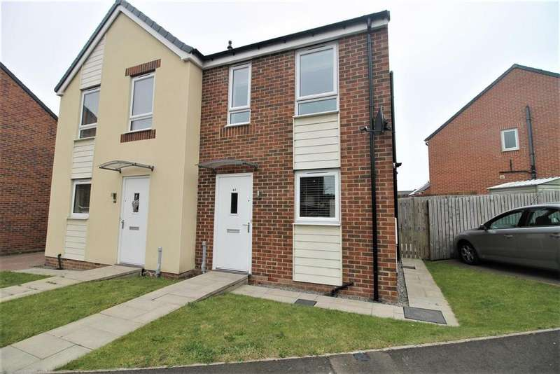2 Bedrooms Semi Detached House for sale in Pottery Wharf, Thornaby, Stockton-On-Tees