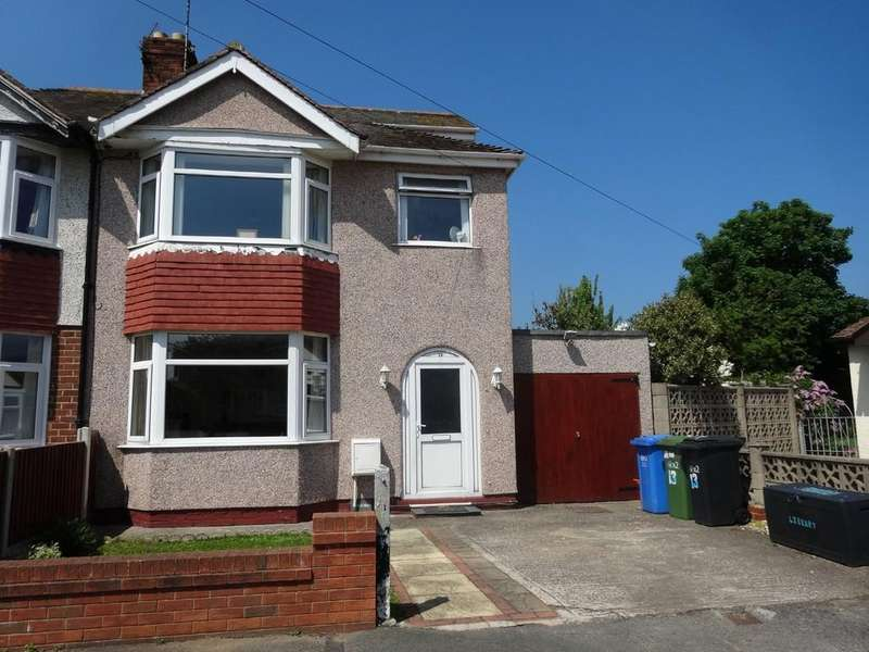 4 Bedrooms Semi Detached House for sale in Trehearn Drive, Rhyl