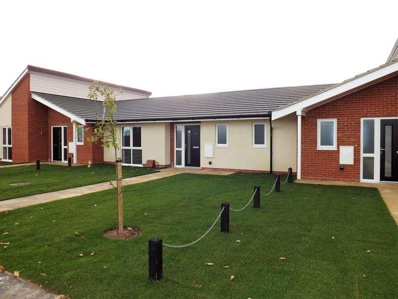 2 Bedrooms Terraced Bungalow for sale in 2 Rye Terrace, Wangford Road, Reydon, Nr Southwold