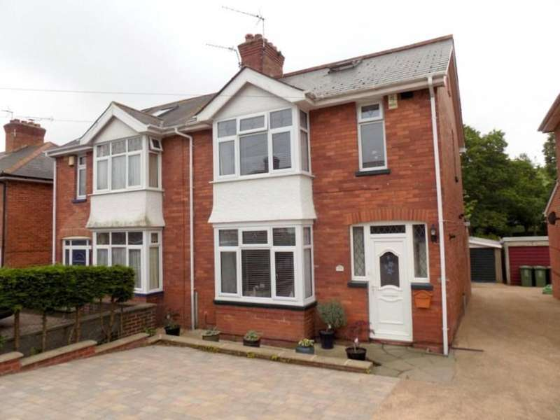 3 Bedrooms Semi Detached House for sale in Chard Road, Exeter